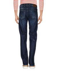 Pt05 - Blue Denim Pants for Men - Lyst