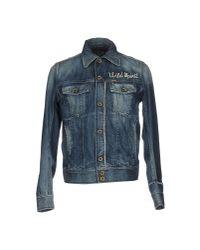 DIESEL | Blue Denim Outerwear for Men | Lyst
