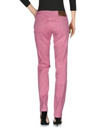 Gucci - Pink Denim Pants - Lyst