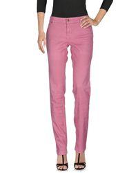 Gucci   Pink Denim Pants   Lyst