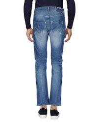 Dondup - Blue Denim Pants for Men - Lyst