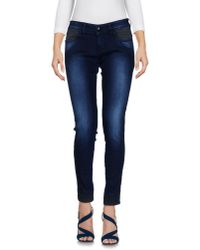Carolina Wyser | Blue Denim Pants | Lyst