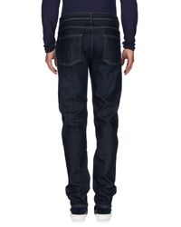 Camouflage AR and J. - Blue Denim Pants for Men - Lyst