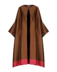 Dries Van Noten - Brown Overcoat - Lyst