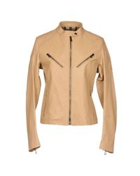 Belstaff - Natural Jacket - Lyst