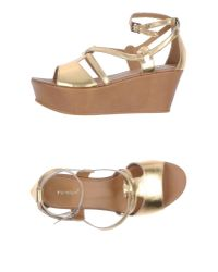 Nana' | Metallic Wedge | Lyst