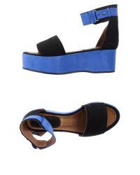 Minimarket - Black Sandals - Lyst