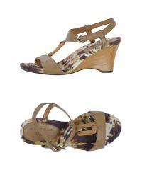 Anne Klein   Natural Sandals   Lyst