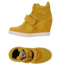 Ash - Yellow High-tops & Sneakers - Lyst