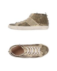 Leather Crown - Green High-tops & Sneakers - Lyst