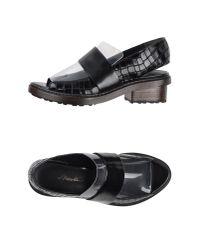 3.1 Phillip Lim - Black Sandals - Lyst
