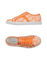 Alessandro Dell'acqua | Orange Low-tops & Sneakers for Men | Lyst