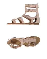 Belle By Sigerson Morrison | Pink Sandals | Lyst