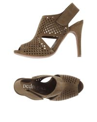 Pedro Garcia | Natural Sandals | Lyst