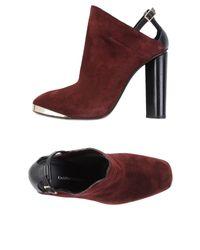 CoSTUME NATIONAL | Purple Sandals | Lyst