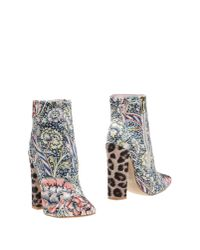 Just Cavalli | Yellow Ankle Boots | Lyst