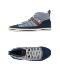 Le Coq Sportif - Blue High-tops & Sneakers for Men - Lyst