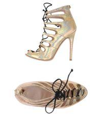 Giambattista Valli - Metallic Sandals - Lyst