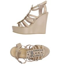 Twin Set | Natural Sandals | Lyst
