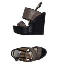 Studio Pollini - Multicolor Sandals - Lyst