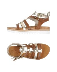 Scoop - Brown Sandals - Lyst