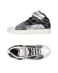 Giuliano Fujiwara - Gray High-tops & Sneakers for Men - Lyst