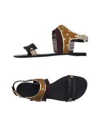 Gianmarco Lorenzi - Multicolor Sandals - Lyst