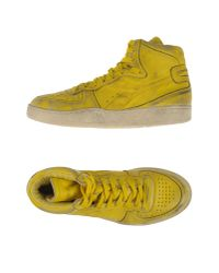 Diadora | Yellow High-tops & Trainers for Men | Lyst