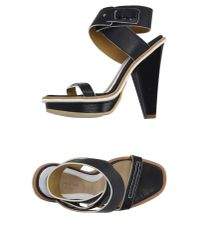 Rag & Bone | Black Sandals | Lyst