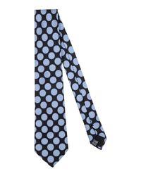 Mp Massimo Piombo - Black Tie for Men - Lyst