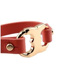 Tory Burch - Red Bracelet - Lyst