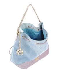 Secret Pon-pon - Blue Shoulder Bag - Lyst