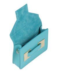 Pierre Darre' | Blue Handbag | Lyst