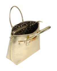 Just Cavalli | Metallic Handbag | Lyst