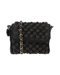 M Missoni - Black Lurex Rafia Mini - Lyst