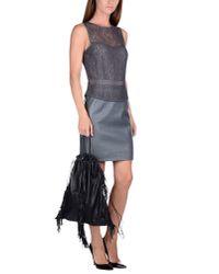 Kara - Black Handbag - Lyst