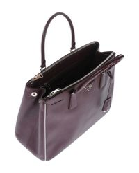 Prada - Purple Handbag - Lyst