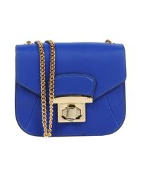 Ab Asia Bellucci - Blue Cross-body Bag - Lyst