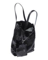 DIESEL - Black Handbag - Lyst