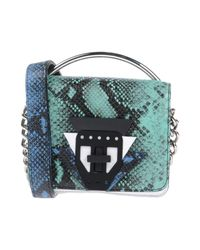 MSGM - Green Handbag - Lyst