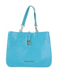 Armani Jeans   Blue Handbag   Lyst
