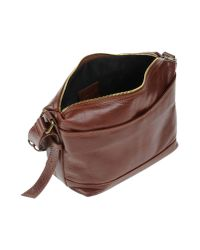 GIADA PELLE - Brown Cross-body Bag - Lyst