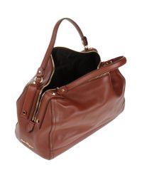 Ferragamo - Brown Handbag - Lyst