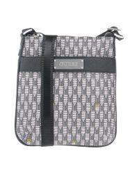 Guess - Gray Cross-body Bag - Lyst