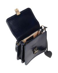 GIADA PELLE - Blue Cross-body Bag - Lyst