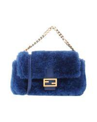 Fendi | Blue Cross-body Bag | Lyst