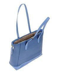 Rocco Barocco - Blue Shoulder Bag - Lyst