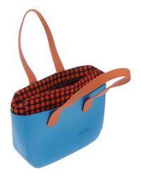 Ju'sto - Blue Handbag - Lyst