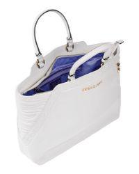 Versace Jeans - White Handbag - Lyst