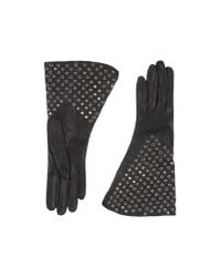Alaïa - Black Gloves - Lyst